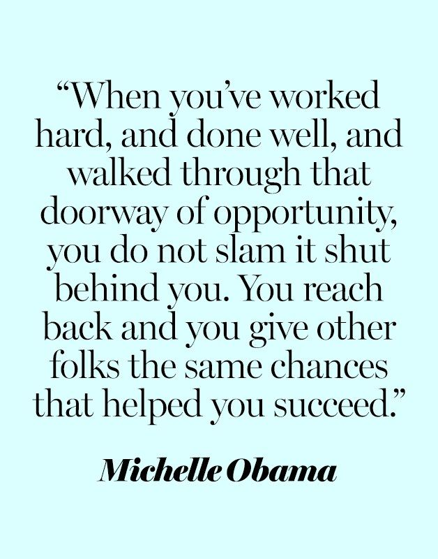 Inspirational work hard quotes 10 Michelle Obama Quotes We Need