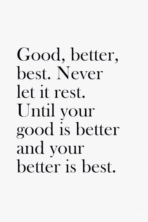 Work Motivation Quotes Good Better Best Work Quotes