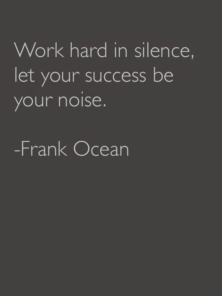 Work Quotes Work Hard In Silence Let Your Success Be Your Noise