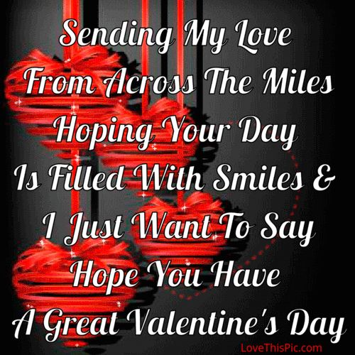 Happy Valentines Quotes | Best Work Quotes Sending My Love On Valentine S Day Work Quotes