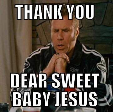 Funny Jesus Quotes Amazing Funny Work Quotes Sweet Baby Jesus Funny Will Ferrell Meme