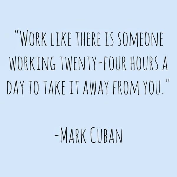 Inspirational Work Hard Quotes