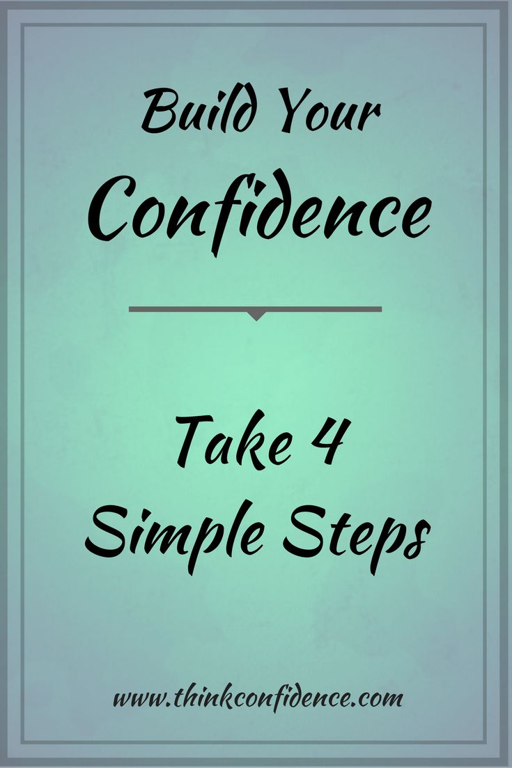 Quotes About Self Confidence Success Work Quotes  Simple 4 Step Process To Build Self