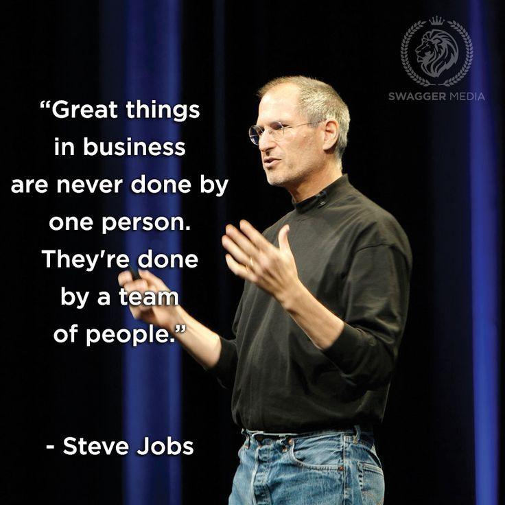 Work Motivation Quotes Thanks To Steve Jobs And His Groups Effort