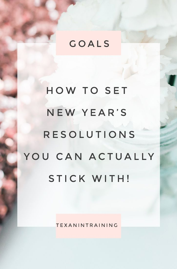 Success Work Quotes : How to Set New Year\'s Resolutions and Goals ...