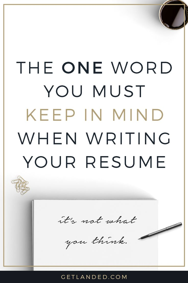 success work quotes newsflash your resume isn t really all about