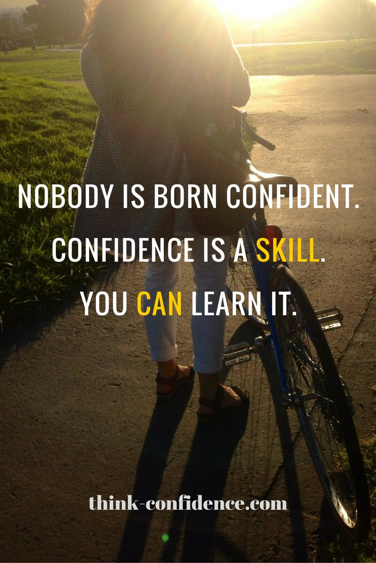Success Work Quotes Confidence Is A Tangible Skill Everyone Can