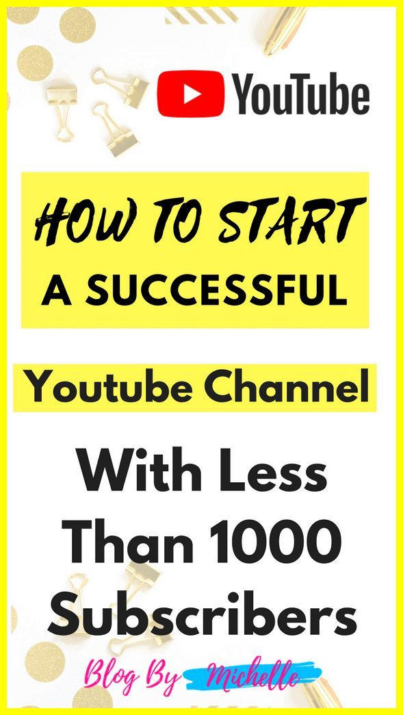 how to get a successful youtube channel