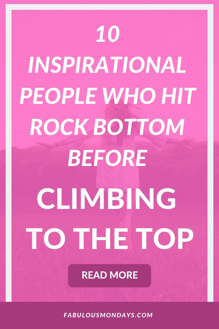 Success Work Quotes How Do You Recover When You Hit Rock Bottom