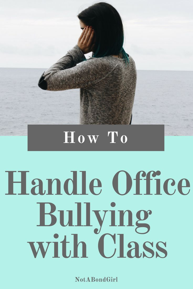 Success Work Quotes How To Deal With Workplace Bullying Office