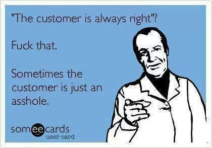 Lol... I felt like this many times when I used to work in retail!