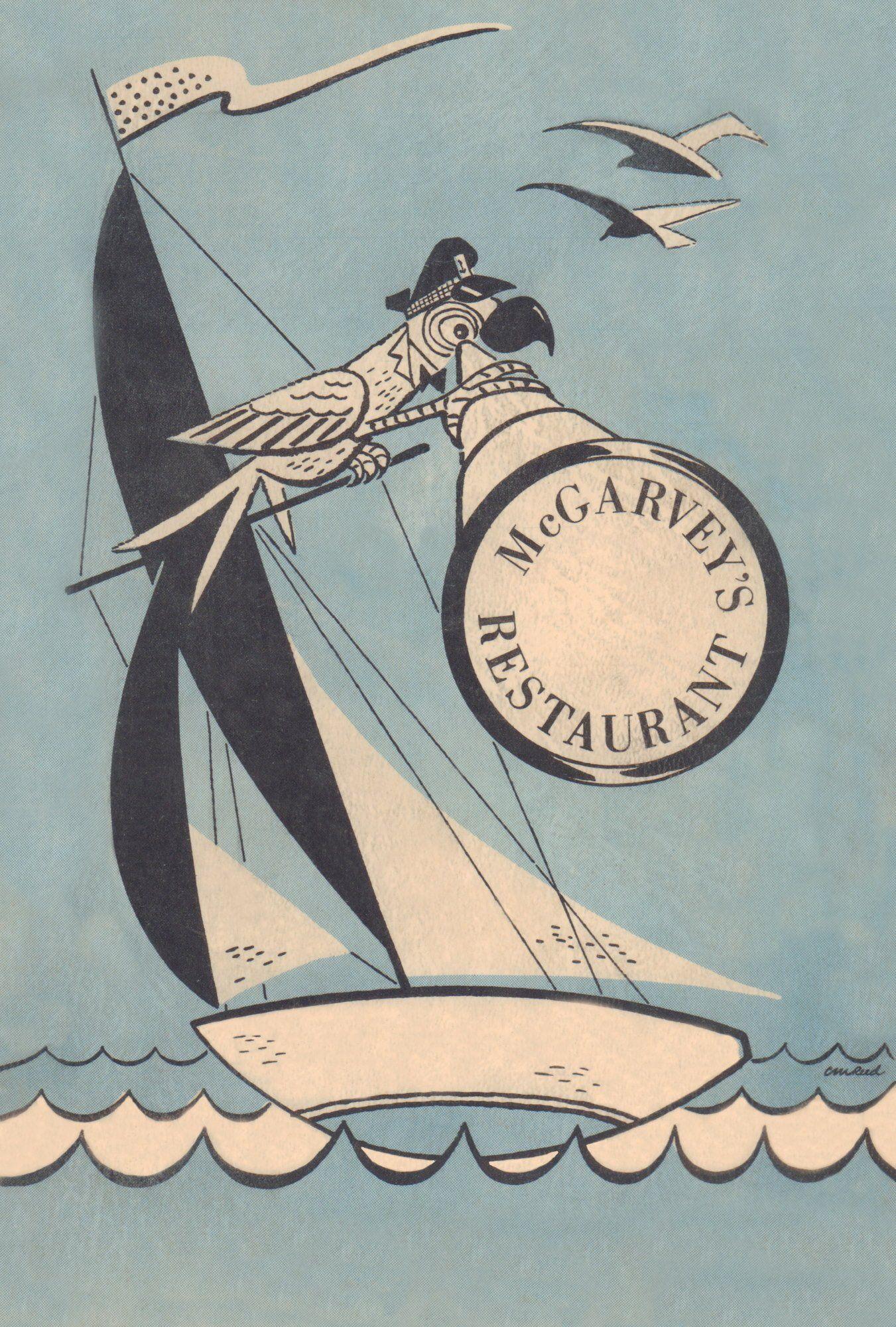 McGarvey's, Vermilion OH, 1930s - 24x36 Archival Print (Unframed) $135.00